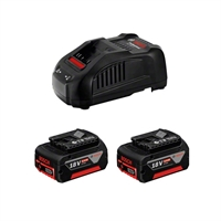 Cargador+2 baterias Power Set 18V 5Ah