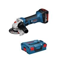 Mola angular GWS 18-125 V-LI + caixa L-BOXX Sense bateria ni carregador