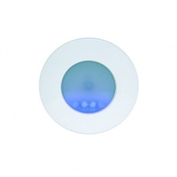 Balisa BLS-101SB no permanent rodona plata/ senyal blau