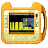 Medidor de campo HD Ranger Eco TV SAT CATV Pantalla 7