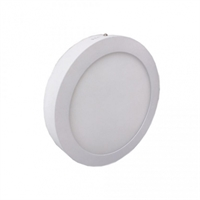 Downlight LED plano redondo superfície Luna 18W 4000K 1600 lm.