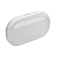 Aplic Zibor ovalat blanc IP65 15W 240V 3000K 120º 1200lm