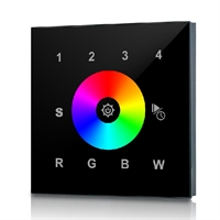 Controlador empotrar RF 2820AC para tira RGB+W 4 Zonas