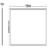 Panel LED Quantum100 120x30x1 40W 6000K 4100lm