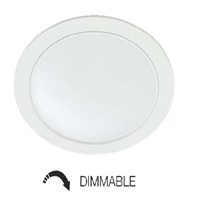 Downlight LED Air dimmable blanco 22W. 4000K 100º 1870 lm.