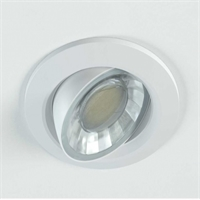 Downlight LED Compac Rodó 8W 220V 90º 300K 607lm
