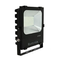Projector LED Tainus negre IP65 50W 240V 5700K 120º 5380lm