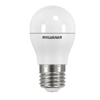 Bombeta LED esférica Toledo 5,6W Regulable Satinada E27 6500K 470 lm.