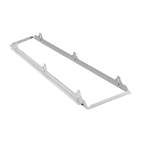 Marco empotrar falso techo Panel LED Start Flat 120x30cm