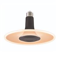 Làmpada LED Toledo Radiance Negra E27 10,5W 2700K 850lm.