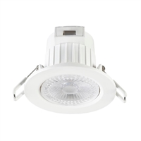 Downlight LED Start Spot orientable blanc Ø86mm IP20 5,5W 4000K 38º 450lm