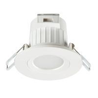 Downlight LED Start Spot fix blanc Ø86mm. 6,5W 3000K 100º 540lm