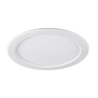 Downlight LED Sylflat redondo blanco 12W 3000K 825lm Ø165, hueco Ø150