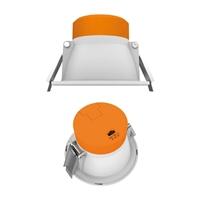 Downlight Mini Smart LED dimmable 9W rodó Ø113 Blanc. Forat Ø90 3-4-5000K 800lm