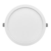 Downlight LED encastar Monet rodó blanc 24W 3000K 2000lm Ø290x13mm. Forat regulable Ø60~260