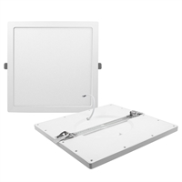 Downlight LED Monet empotrar Cuadrado blanco 24W 6000K 2000lm. 290x290x13mm