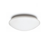 Aplique LED redondo Ovel IP44 Ø255 12W 3000K 1000lm