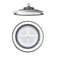 Campana LED Ufo Aluminio 100-260V 150W 4000K 110º 19.500lm IK09 IP65