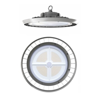 Campana LED Ufo Aluminio 100-260V 150W 5000K 110º 19.900lm IK09 IP65