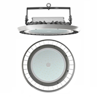Campana LED Ufo Aluminio 100-260V 300W 4000K 110º 39.000lm IK09 IP65