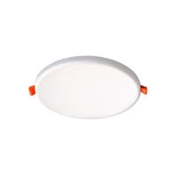 Downlight LED Simho IP66 rodó blanc 8W. Ø100. Forat Ø80mm 4000K 600 lm