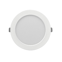 Downlight LED encastar Monet rodó blanc 12W 3000K 950lm Ø160x13mm. Forat regulable Ø60~140