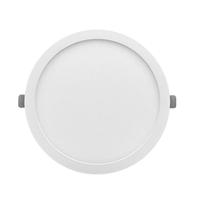 Downlight LED encastar Monet rodó blanc 18W 6000K 1500lm Ø215x13mm. Forat regulable Ø60~190