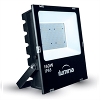 Projector LED Tango negre IP65 amb protector sobretensions 2kV. 150W 100-240Vac 3000K 120º 167000lm