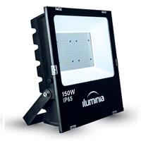 Projector LED Tango negre IP65 amb protector sobretensions 2kV. 150W 100-240Vac 4000K 120º 17020lm
