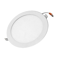 Downlight LED Luna Eco rodó blanc Øforat: 200mm Øext 225mm UGR<21 18W 4000K 1500lm