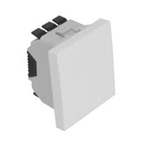 Commutador de Creuament - 2 mòduls blanc