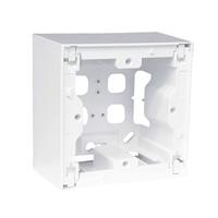 Caixa de superficie modular blanc Serie Quadro Q45