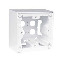 Caja de superficie modular blanco Serie Quadro Q45