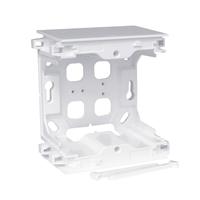 Centro Caja de superficie modular blanca. Serie Quadro Q45