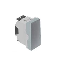 Commutador 1 mòdul, Alumini