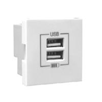 Cargador doble USB Tipo A. Hielo