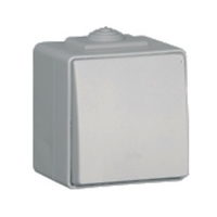 Commutador de creuament IP65 gris