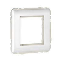 Tapa central universal Q45 blanco
