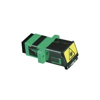 Adaptador para conectores F.O. SC APC Simplex