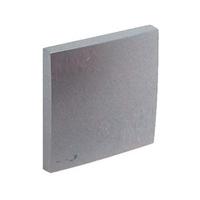 Tecla simple con Símbolo Llave. Aluminio