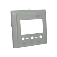Tapa termostato digital con IR. Gris