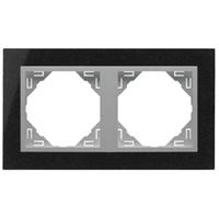 Marc doble Granit/alumini