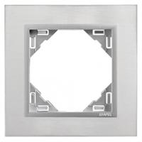 Marco simple Inox/Alumino Metallo