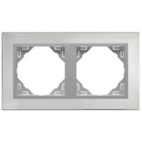 Marc doble INOX/Alumini Metallo