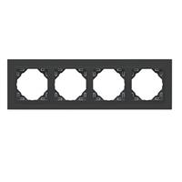 Marc quadruple negre/nerge Animato