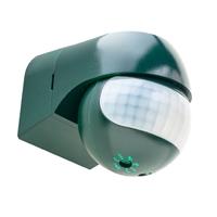 Detector de moviment PIR Sekkyur-Nano Verd, abast 12m 180º , altura 1,8-2,5m, IP44