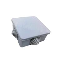 Caja estanca 80x80 tapa presión 5 conos M25