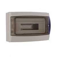 Caja estanca para 8-12 PIAs 307x217x117,5mm. IP65 Practicable