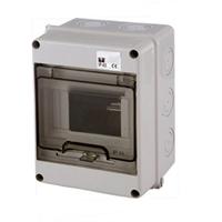 Caixa estanca per a 3-5 PIAs. 110x150x90 IP65 practicable