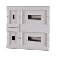 Caja para ICP+32 PIAs. 458x436x78x15 IP40. Empotrar
